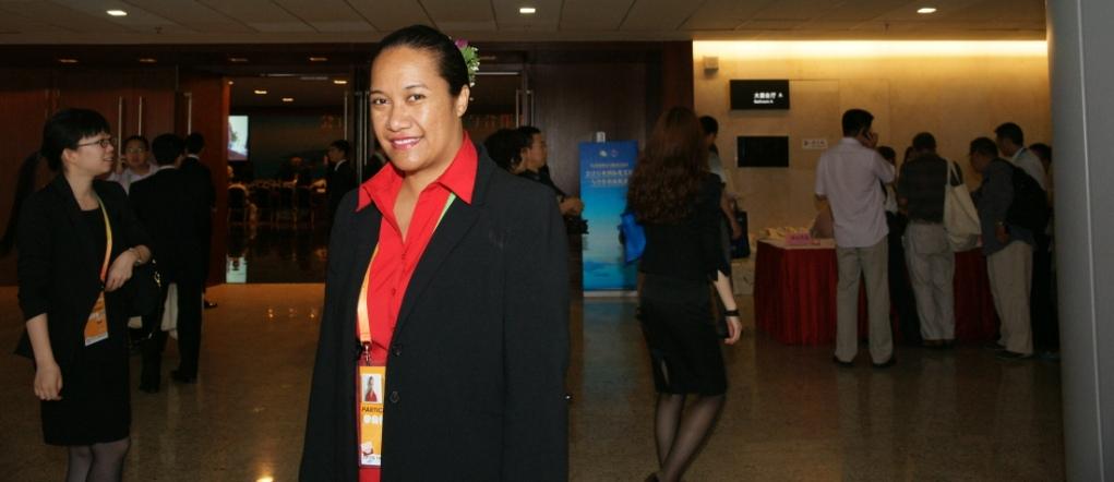 The President - Ms. Susana Laulu